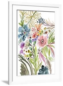 Happy Flowers I by Karen Fields