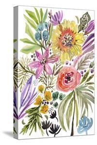 Happy Flowers II by Karen Fields