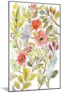 Happy Flowers IV by Karen Fields
