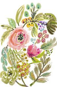 Happy Flowers V by Karen Fields