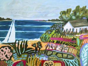 Nautical Whimsy II by Karen  Fields