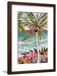 Palm Tree Wimsy II by Karen  Fields