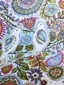 Paper Birds II by Karen  Fields