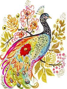 Peacock Ornate by Karen  Fields