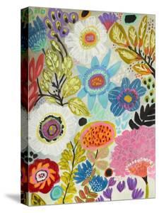 Secret Garden Floral I by Karen  Fields
