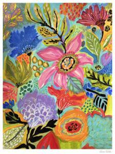 Secret Garden Floral II by Karen  Fields
