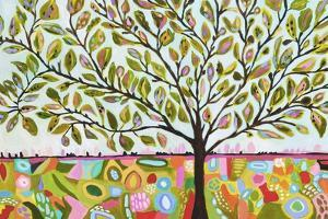 Tree Abstract by Karen  Fields