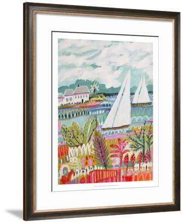 Two Sailboats and Cottage II