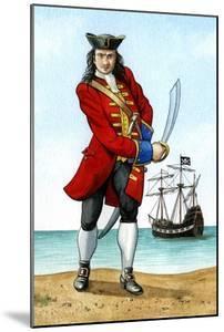 John 'Calico Jack' Rackham, (1680-172), English Pirate Captain by Karen Humpage