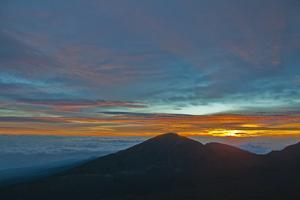 Sunrise Atop Haleakala, an Extinct Volcano on the Island of Maui in Hawaii by Karen Kasmauski