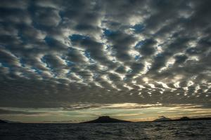 The Channel Between Sombrero Chino Island and Santiago Island in the Galapagos by Karen Kasmauski