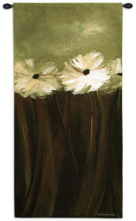Daisy Bouquet Wall Tapestry by Karen Lorena Parker