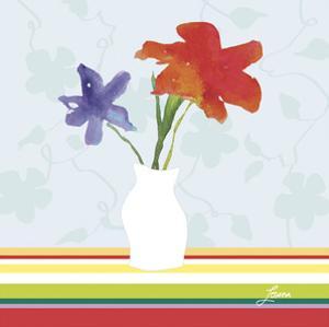 Spring Stripes I by Karen Lorena Parker