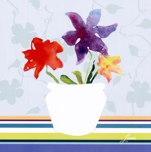 Spring Stripes II by Karen Lorena Parker
