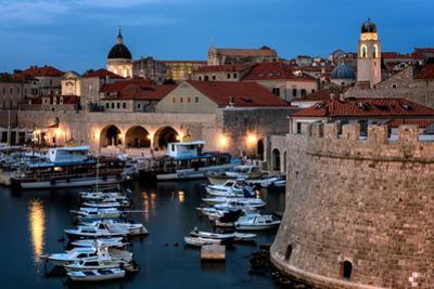 Dubrovnik Harbour, UNESCO World Heritage Site, Croatia, Europe by Karen McDonald