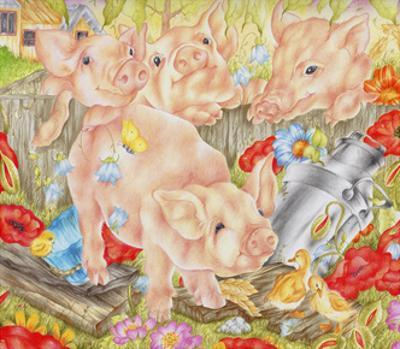 Piggy in the Middle by Karen Middleton