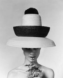 Vogue - June 1963 - Galitzine Hat by Karen Radkai