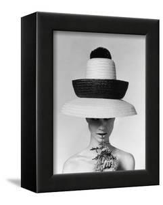 Vogue - June 1963 - Galitzine Hat by Karen Radkai
