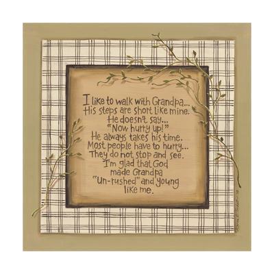 Walk with Grandpa