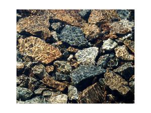Water Rocks One by Karen Ussery