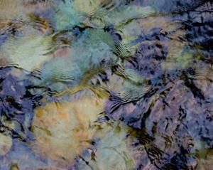 Water Rocks Two by Karen Ussery