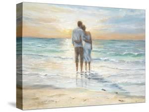 Seaside Sunset by Karen Wallis