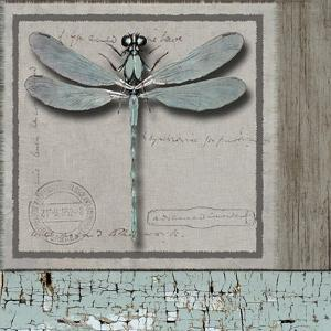 Dragonfly Blue by Karen Williams
