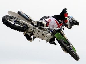 Motocross I by Karen Williams