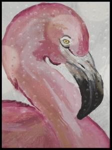 Pink Flamingo by Karen Williams