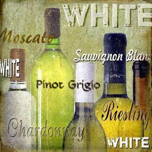 White Wine Bottles by Karen Williams