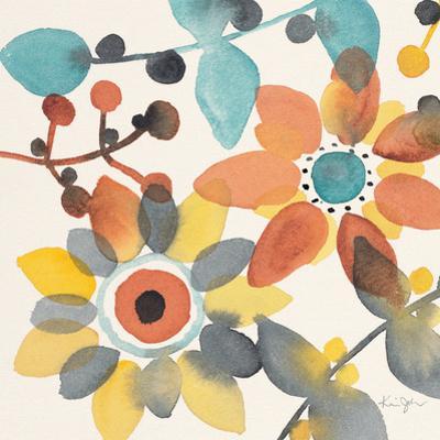Frivolous Florals 1 by Karin Johannesson