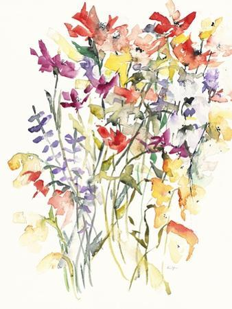 Laughing Lupines 1 by Karin Johannesson