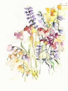 Laughing Lupines 2 by Karin Johannesson