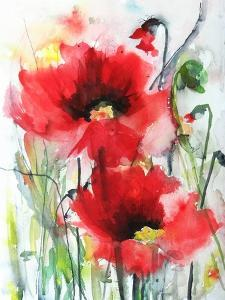 Red Poppies by Karin Johannesson