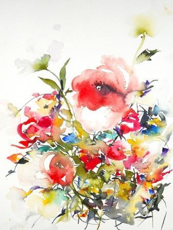 Summer Garden One by Karin Johannesson