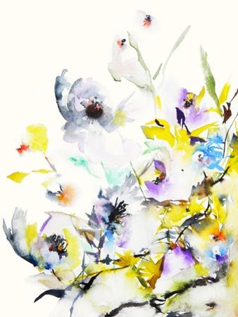 Summer Garden V by Karin Johannesson