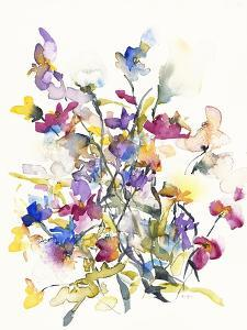 Tangled Pansies by Karin Johannesson