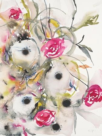 Watercolor Field 1 by Karin Johannesson