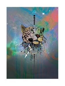 Cosmic Leopard by Karin Roberts