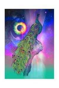 Cosmic Peacock by Karin Roberts