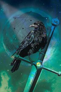 Cosmic Raven by Karin Roberts