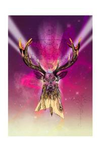 Cosmic Stag by Karin Roberts