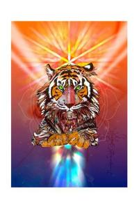 Cosmic Tiger by Karin Roberts
