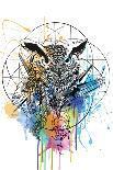 Peacock-Karin Roberts-Art Print