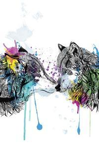 Wolves by Karin Roberts