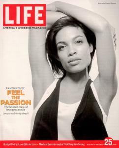 Portrait of Actress Rosario Dawson, November 25, 2005 by Karina Taira