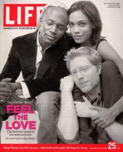 Rent Co-stars Taye Diggs, Rosario Dawson and Anthony Rapp, November 25, 2005 by Karina Taira