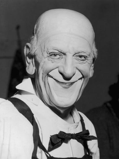 "Karl Adrien ""Grock"" Wettach a Swiss Clown--Photographic Print"