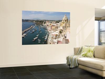 Harbour of Procida by Karl Blackwell