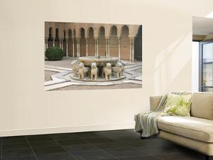 Patio De Los Leones, Palacios Nazaries (Nasrid Palace) at the Alhambra by Karl Blackwell